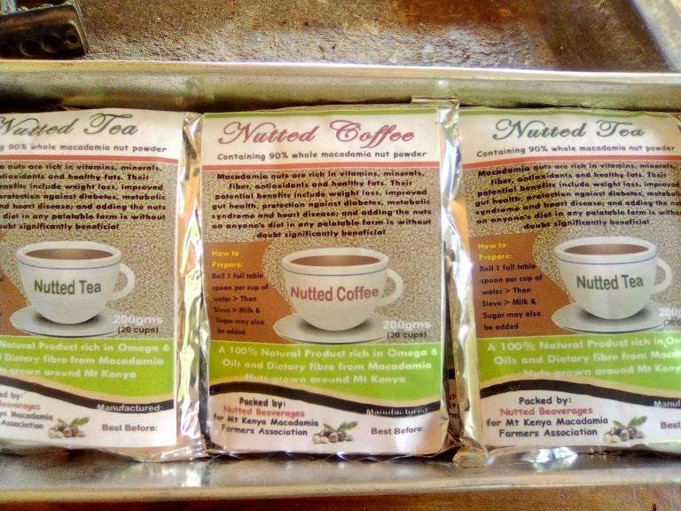No waste Macadamia Food Design