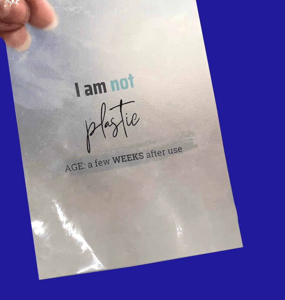 I am not plastic by Zerocircle