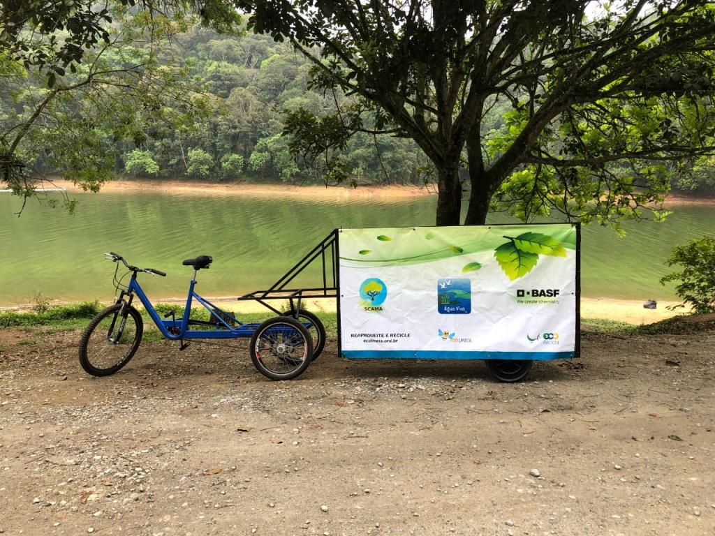 Triciclo Elétrico de Coleta Seletiva