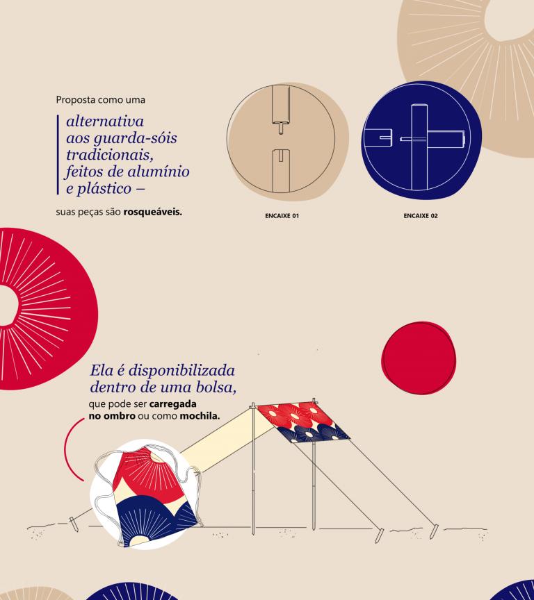Oga, the ecological sunshade