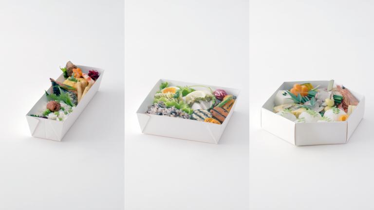 Easy-disposal Bento Box