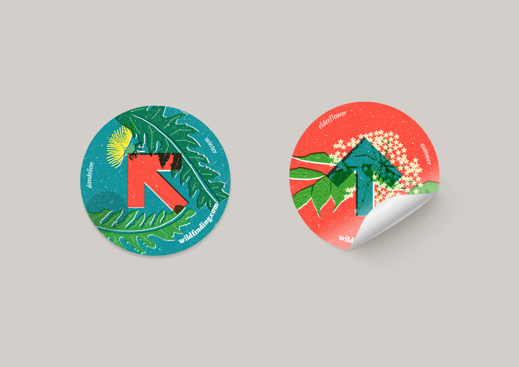 Wildfinding stickers