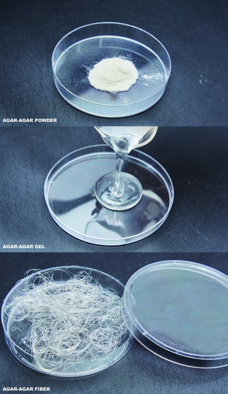Biodegradable Agar Fibers