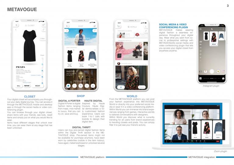METAVOGUE your digital fashion